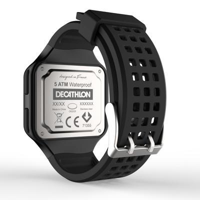 Montre chronomètre de course à pied homme W500+ M noire