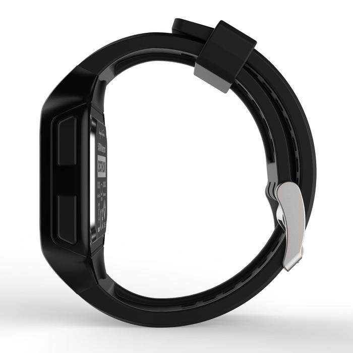 Horloge met stopwatch W500+ M zwart