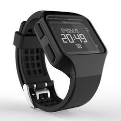 Reloj cronómetro running hombre W500+M negro