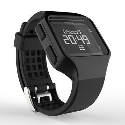 W500 M שעון עצר לריצה לגברים - שחור שעון