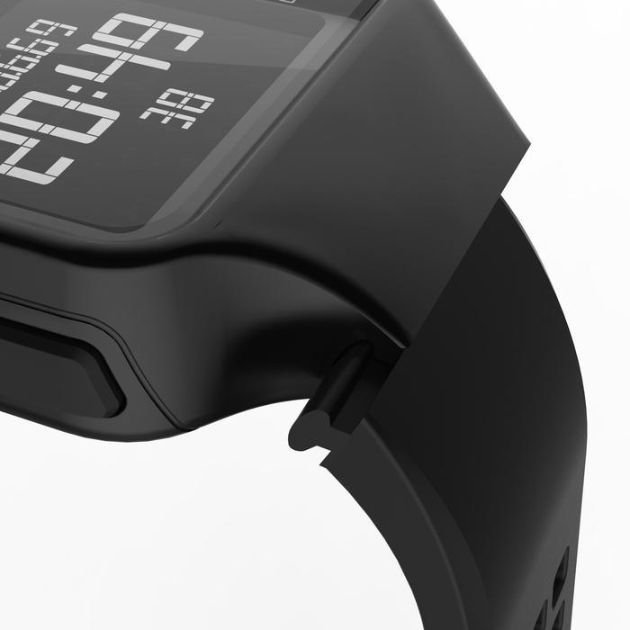 Montre chronomètre de course à pied homme W500+ M noire - 1328212