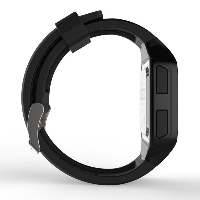 Montre chronomètre de course à pied homme W500+ M noire - 1328215