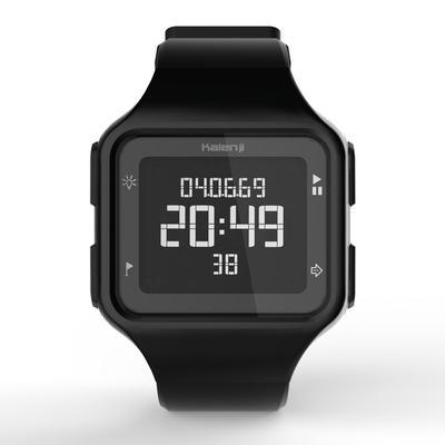 ساعة رياضية W500+ M SWIP للرجال - سوداء