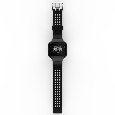 שעון עצר לריצה דגם W500 לגברים - שחור שעון