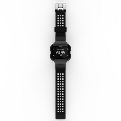 W500 M men's running stopwatch black