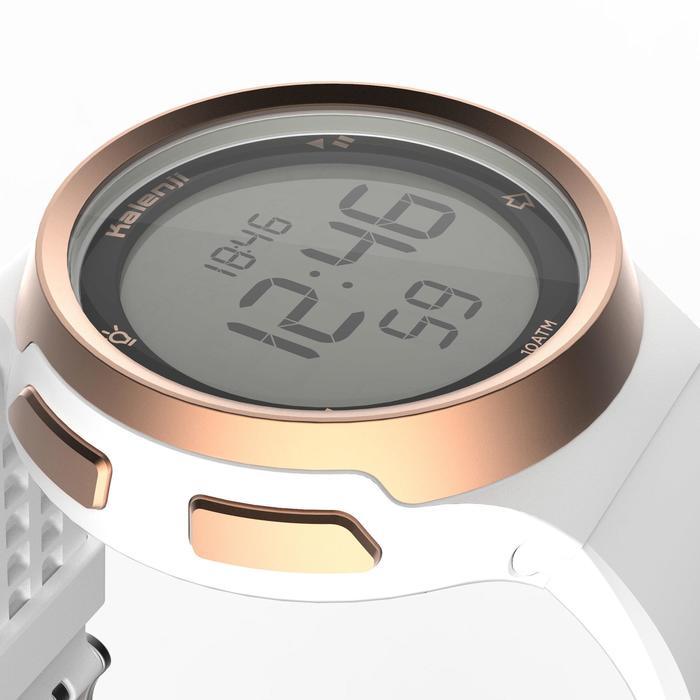 Montre chronomètre de course à pied homme W900 noire reverse - 1328222