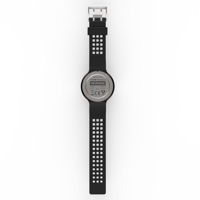Montre chronomètre de course à pied homme W900 noire reverse - 1328224