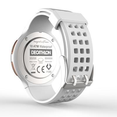 ساعة توقيت جري للرجال W900 M لون أبيض ونحاسي
