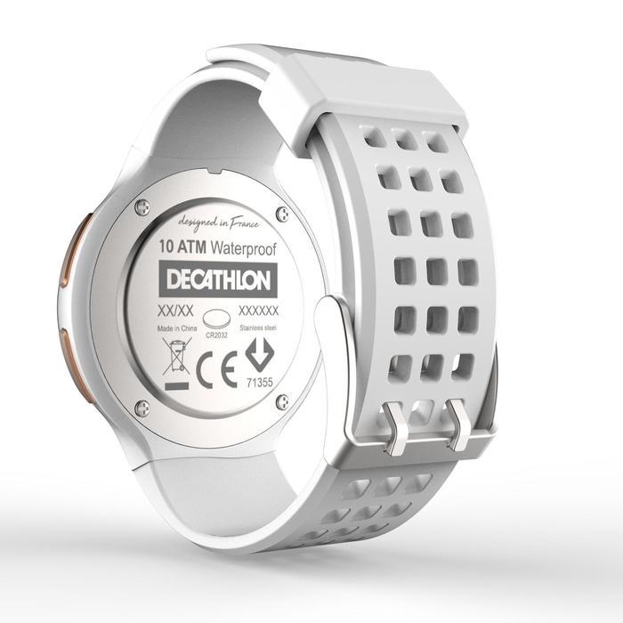 Montre chronomètre de course à pied homme W900 noire reverse - 1328225