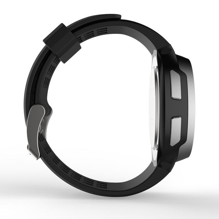 Montre chronomètre de course à pied homme W900 noire reverse - 1328232