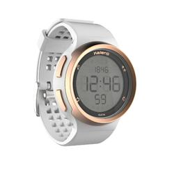 Montre chronomètre de course à pied homme W900 blanche et cuivre