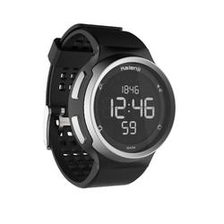 Reloj Cronómetro Running Kalenji W900 Negro Pantalla Reverse
