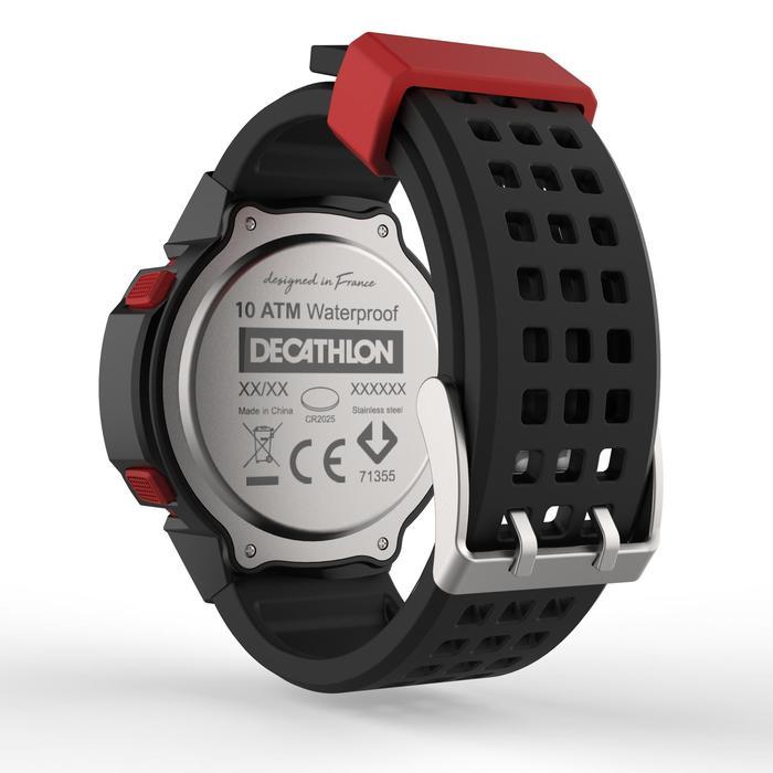 cd8b67634308 Reloj Cronómetro Running Kalenji W700XC M Negro Antiimpactos Kalenji ...