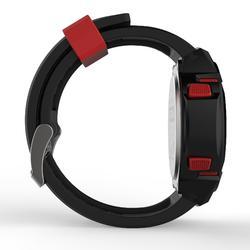 Reloj cronómetro running hombre W700xc M ROJO NEGRO