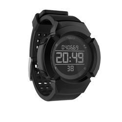 Reloj Cronómetro Running Kalenji W700XC M Negro Antiimpactos