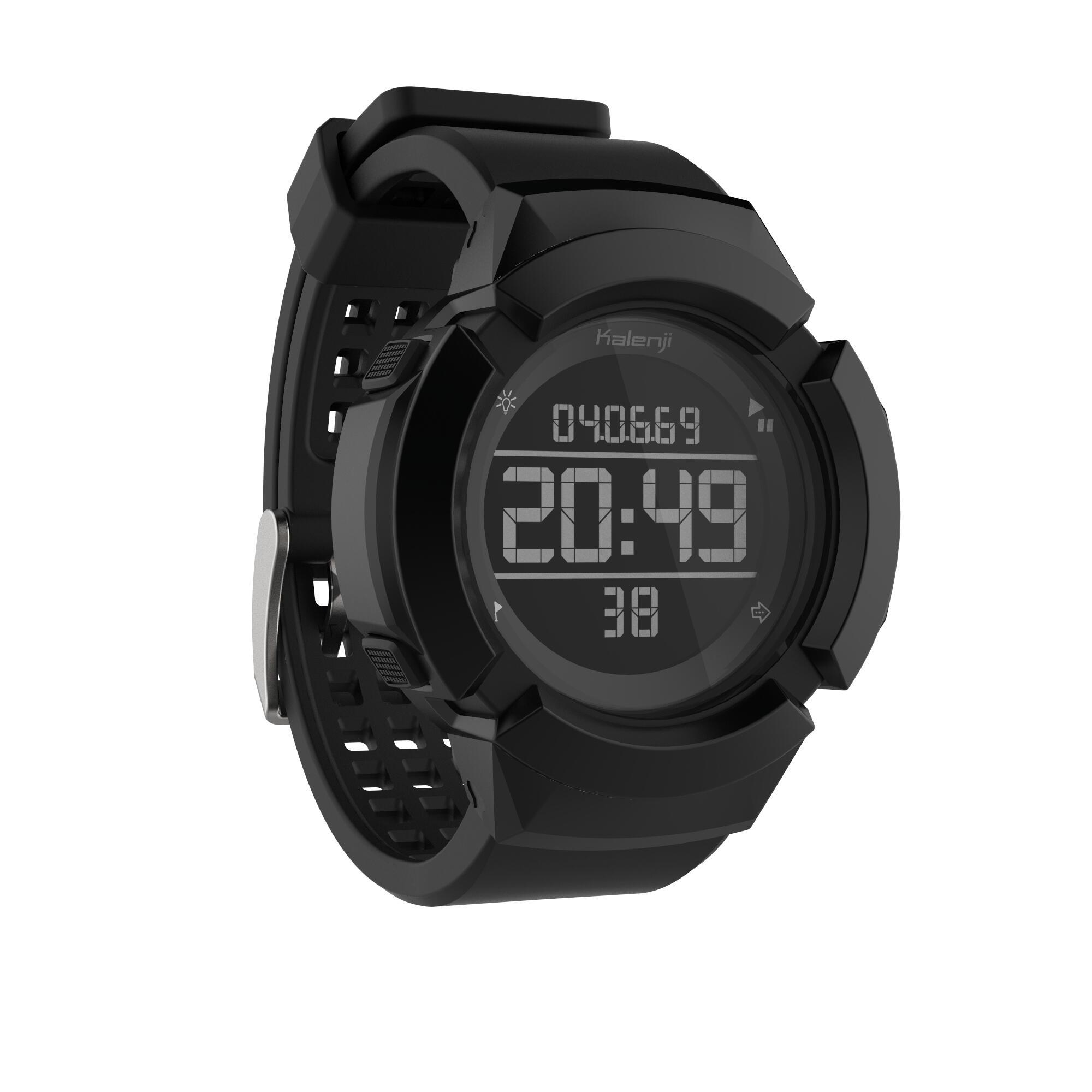 Kalenji Schokbestendige hardloophorloge stopwatch heren W700XC+ M thumbnail