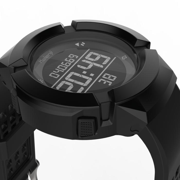 Reloj cronómetro de running antiimpactos hombre W700xc M negro