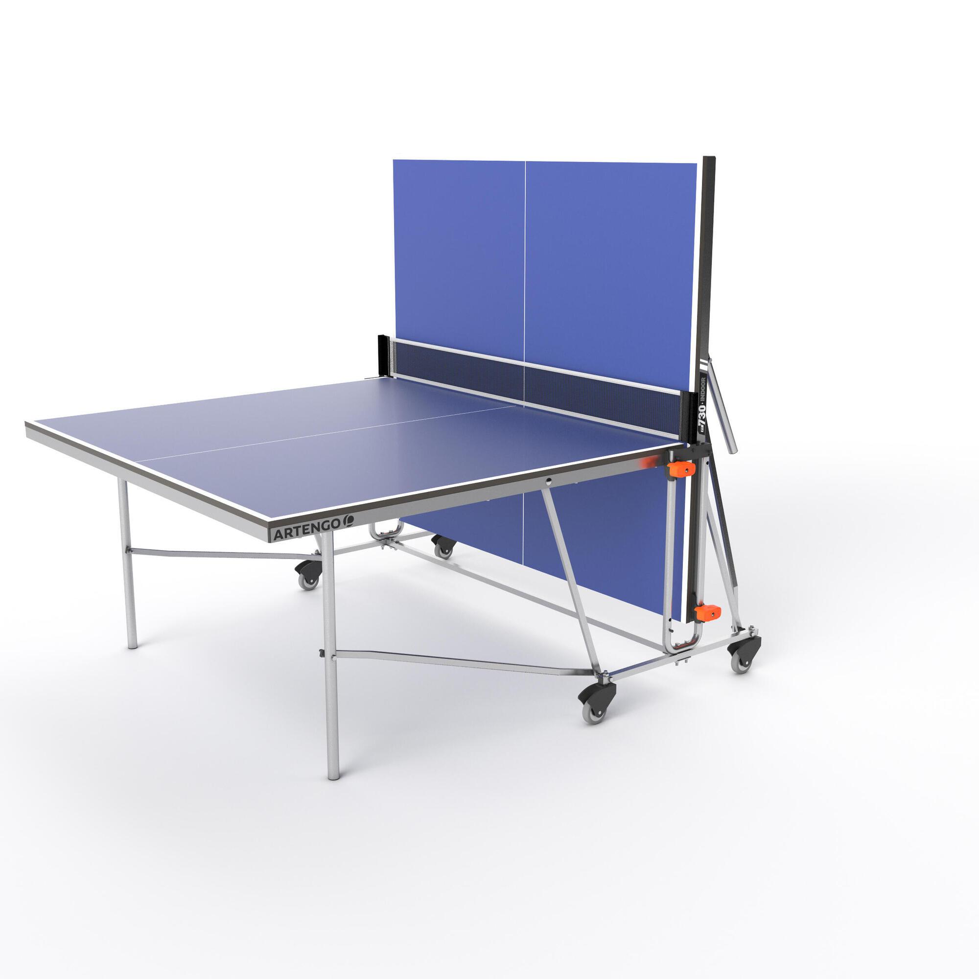 - FT 730 Indoor Free Table Tennis Table Artengo