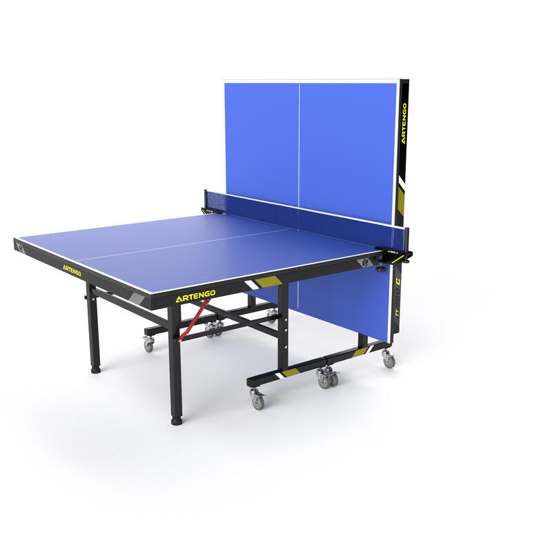 Ft 950 Indoor Fftt Approved Club Table Tennis Table Blue Artengo
