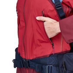 Veste imperméable trekking montagne TREK 500 femme Rose
