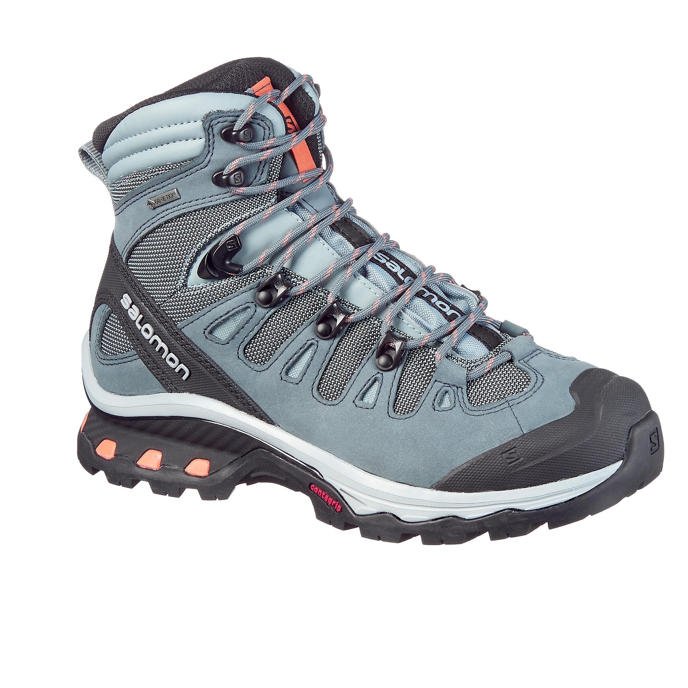 Trekkingschuhe Quest Damen blau | Schuhe > Outdoorschuhe > Trekkingschuhe | Salomon
