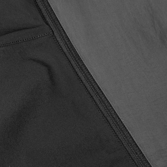 Zip-off-Trekkinghose Trek 500 Damen dunkelgrau