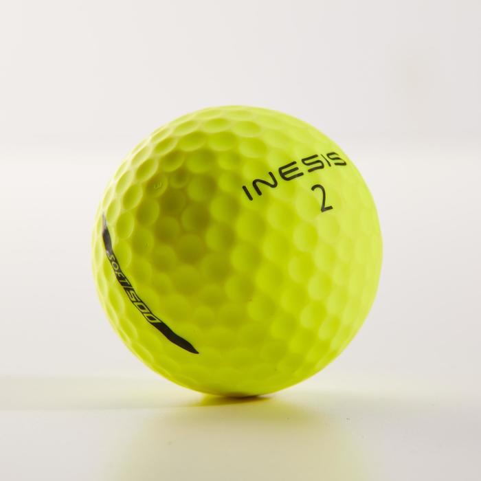Balles de golf 500 x 12 jaune matte