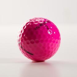 Golfballen Soft 500 x12 roze
