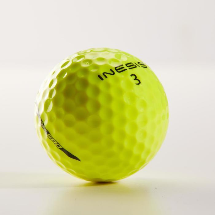 12入軟式高爾夫球500-黃色