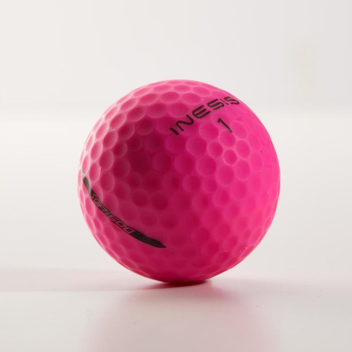 Balle de golf SOFT 500 X12 mat - 1328533