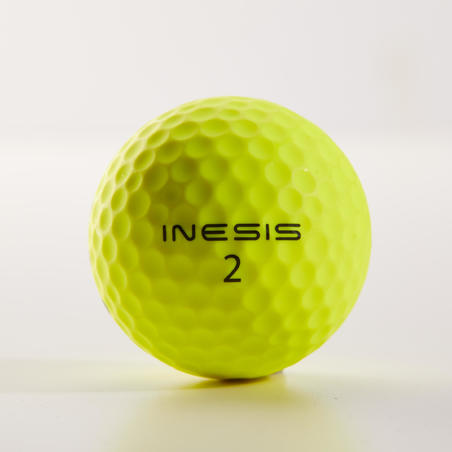 Bola Golf Kuning Matt x12 Soft 500