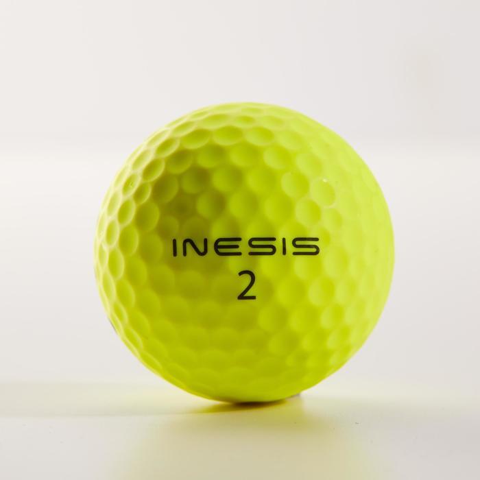 Golfballen Soft 500 x 12 geel mat