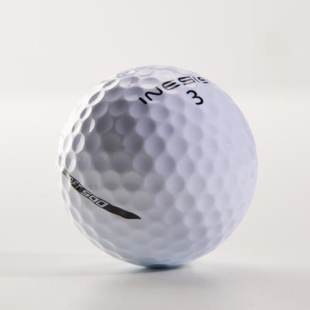 Pelota de golf SOFT 500 x12 Blanco