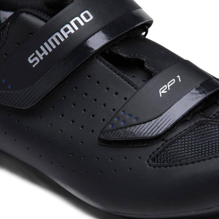 Fahrradschuhe Rennrad Shimano RP1 schwarz