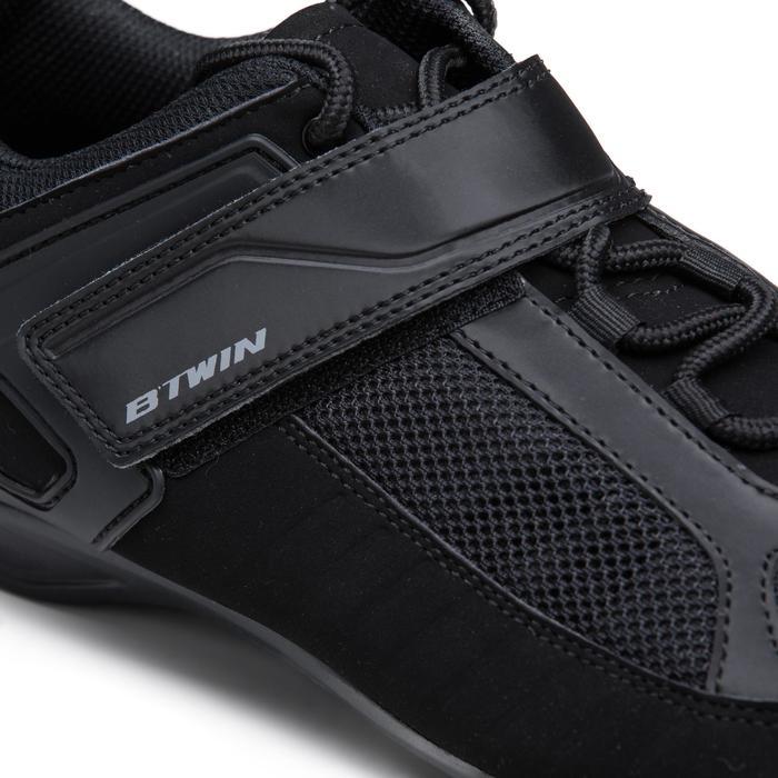 Fahrradschuhe Rennrad 100 schwarz