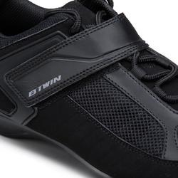 Zapatillas ciclismo carretera spd triban RC 100 negro