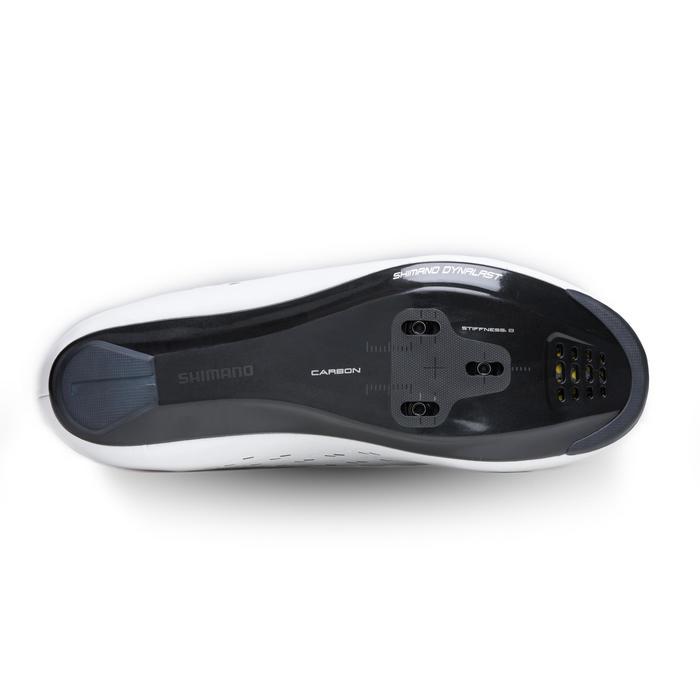 Zapatillas ciclismo de carretera SHIMANO RP5 blancas