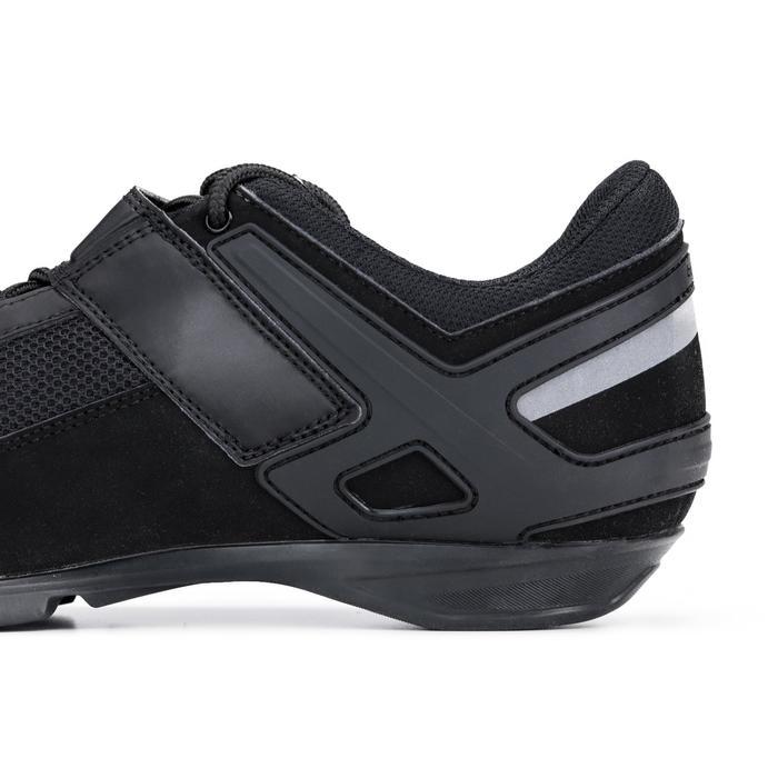 Chaussures vélo cyclotourisme ROADC 100 noir