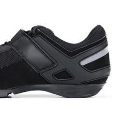 Fietsschoenen voor wielrennen RC 100 zwart