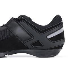 Tenis de ciclismo cicloturismo ROADC 100 negro