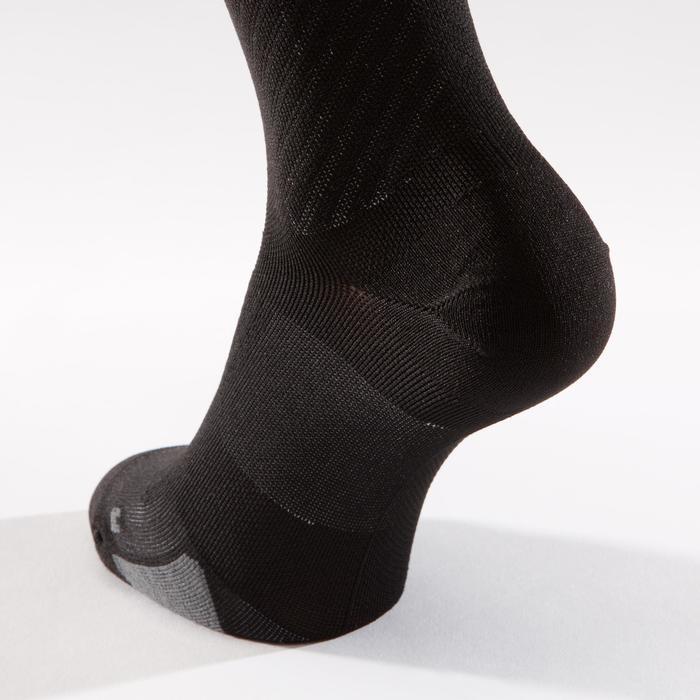 Fietssokken racefiets 900 zwart/grijs