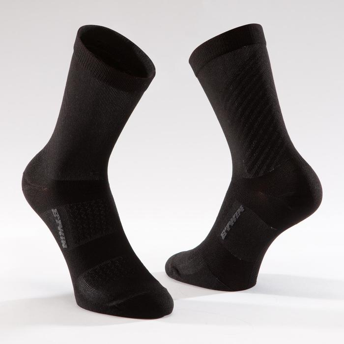 900 Road Cycling Socks - Black/Grey