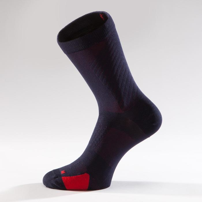 900 Road Cycling Socks - Navy/Red - 1328651