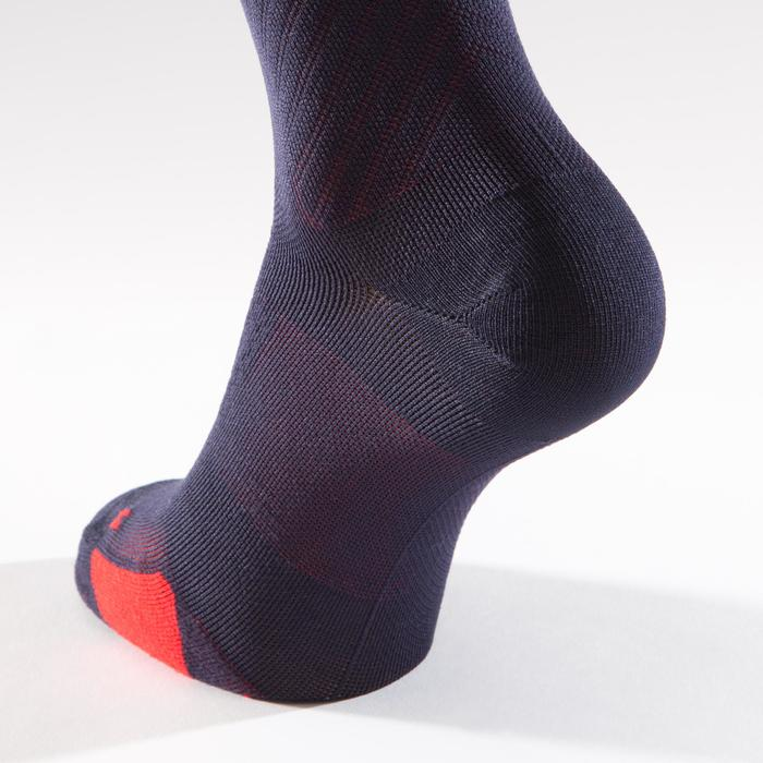 900 Road Cycling Socks - Navy/Red - 1328652