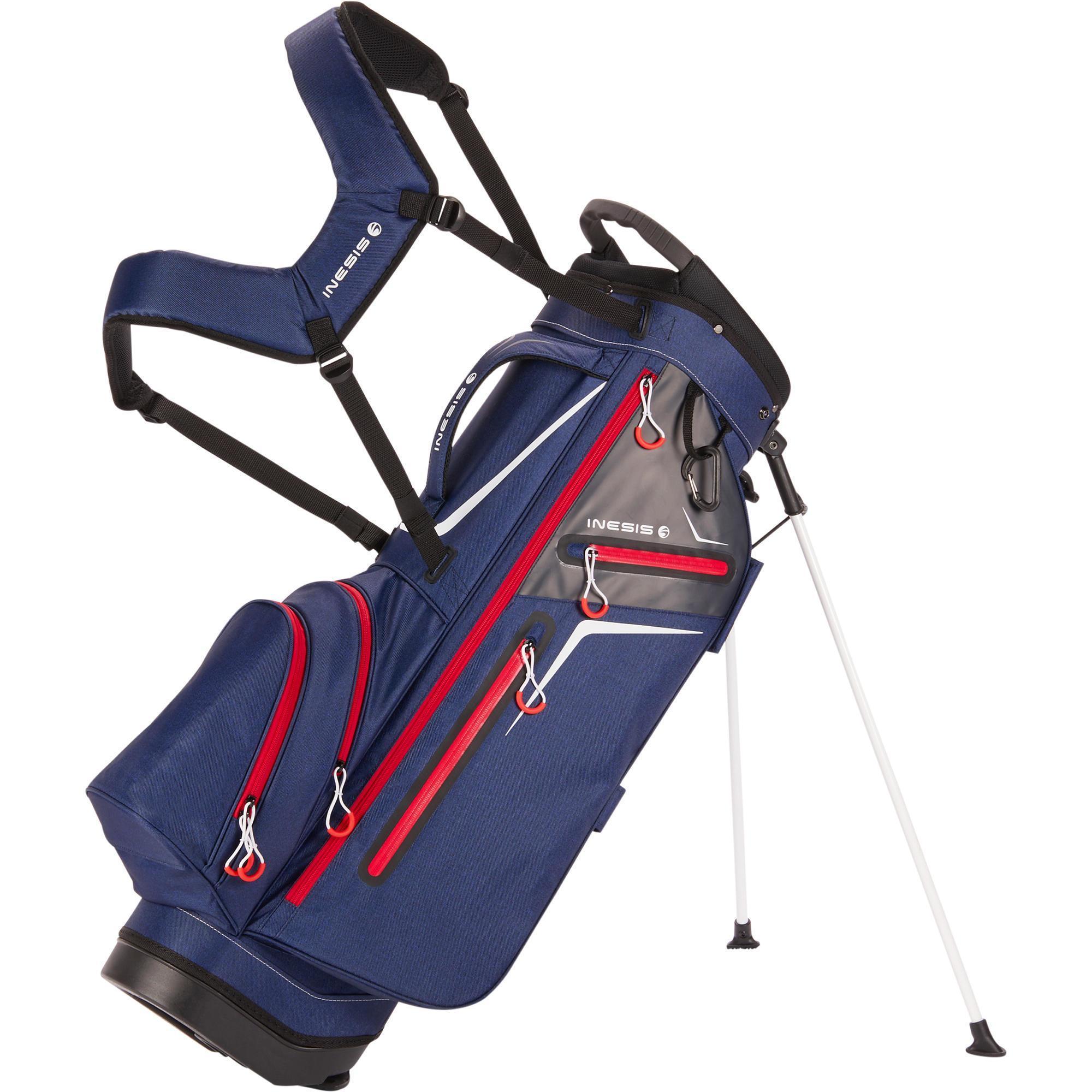 Inesis Standbag Light voor golf donkerblauw kopen