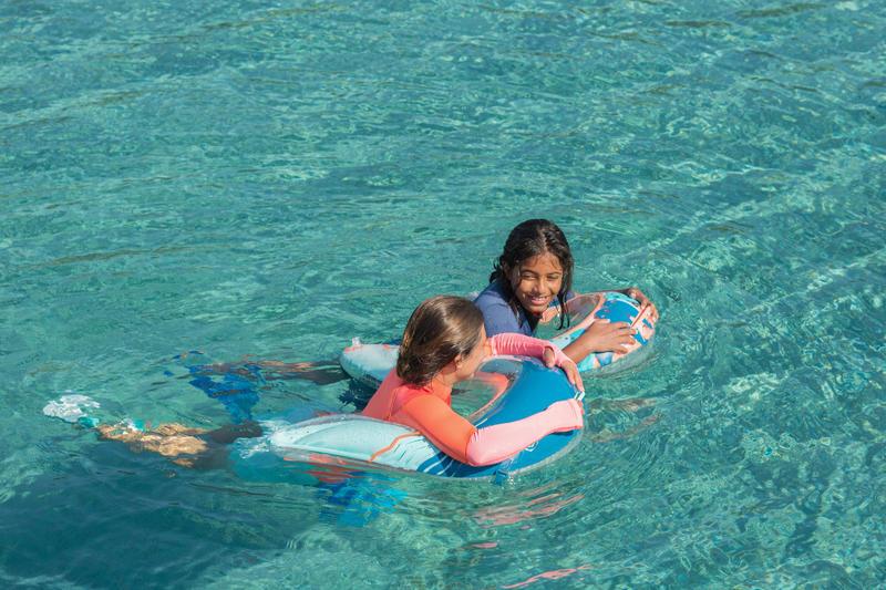 Olu 120 snorkelling observation buoy Fish blue orange
