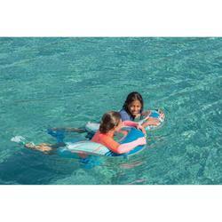 Flotador Playa Snorkel Subea SNK Olu 120 Azul Naranja Peces