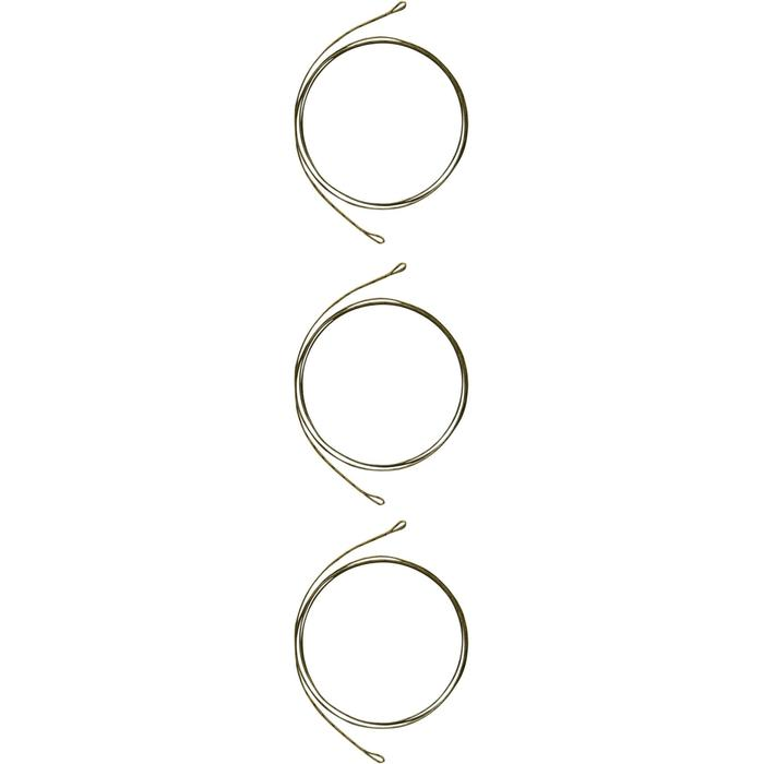 Accessoire voor karpervissen leadcore set olijfkleurig - 1328845