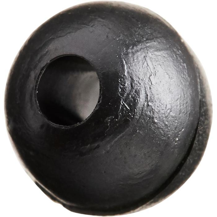 PERLA BLANDA NEGRO 6 mm PESCA DE LA CARPA