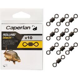 Rolling-Wirbel Black Karpfenangeln